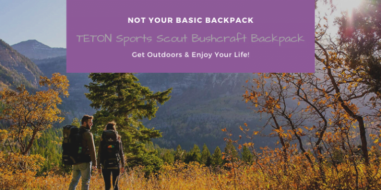 TETON Sports Scout Bushcraft Backpack