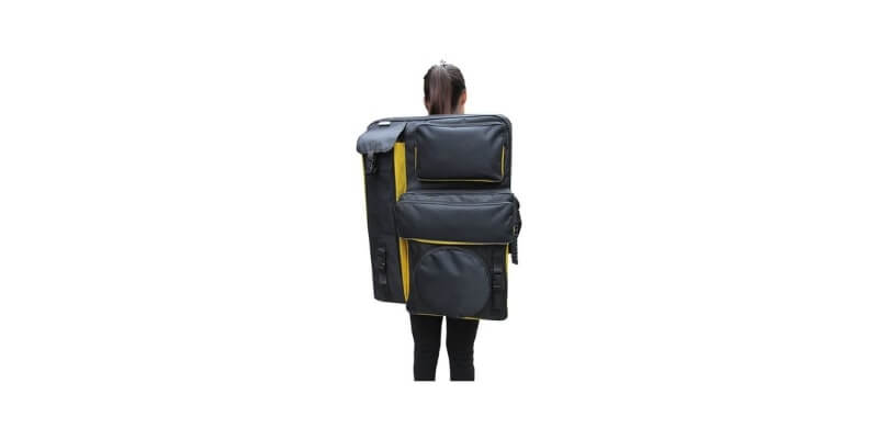Drawing Board Backpack Art Carrying Case