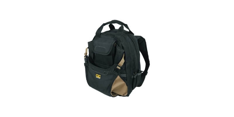 CLC Custom Leathertcraft 1134 Electricians Tool Backpack