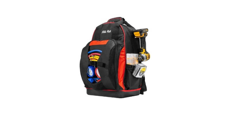 XtremepowerUS Multi-Purpose Electricians Tool Backpack