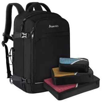 Asenlin 40L Travel Backpack for Fat People