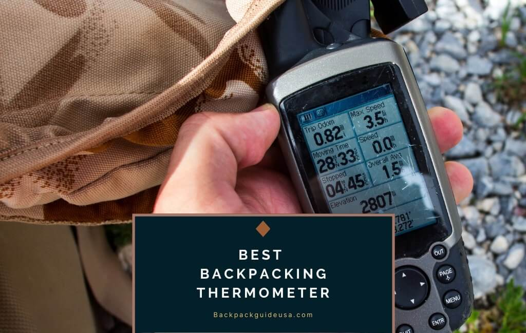 Best Backpacking Thermometer