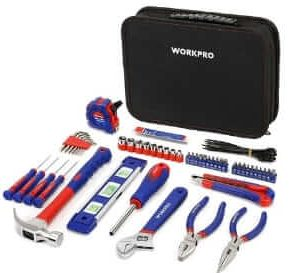 WORKPRO Tool Bag with Tool Kit