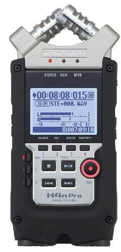 Portable recorder (Zoom H4n)