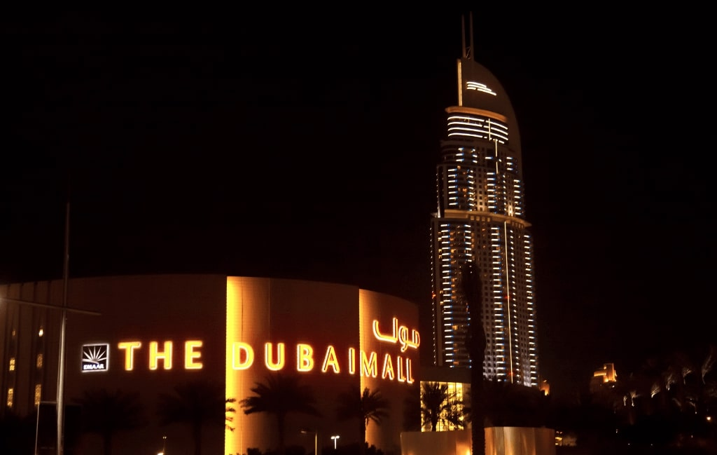 Dubai Mall A Great Place for Shopping in New Year's Eve in Dubai